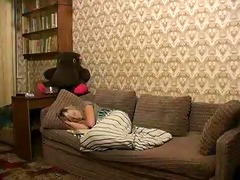 russian young blonde beauty gets screwed by her
