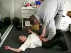 mom sons ally sex in the kitchen