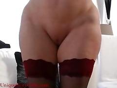 amateur mil mother bizarre cum-hole spreading