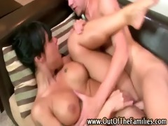 wench and step brother fuck and cumshot act