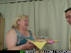 he is lured into sex by obese mother in law