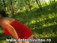 milf sex in the forest