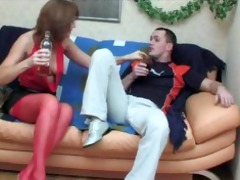 sexy russian older seduces a guy russian cumshots